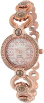 Titan Women's 9902WM01 Theme Raga Intricate Swarovski Elements Jewelry Inspired Gold-Tone Watch