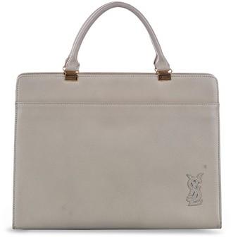 Yves Saint Laurent Pre-Owned Logo-Plaque Tote Bag