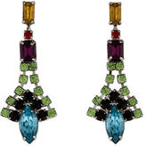 Tom Binns Multicolor Crystal Drop Earrings