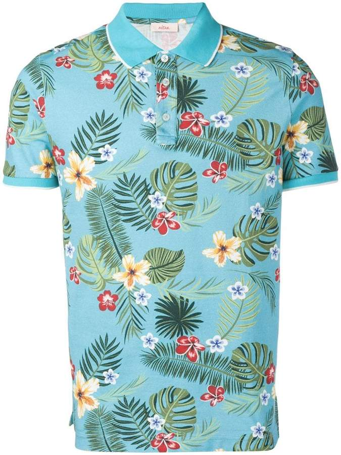 87805998 Floral Polo For Men - ShopStyle