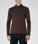 Reiss Chapter Mercerised Cotton Shirt