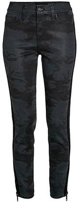 Etienne Marcel Camo Zip-Cuff Skinny Jeans