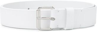 MM6 MAISON MARGIELA Adjustable Buckle Leather Belt