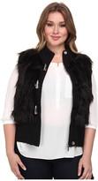 MICHAEL Michael Kors Size Fur Toggle Vest