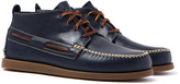 Sperry Navy Wedge Top Sider Chukka Boots