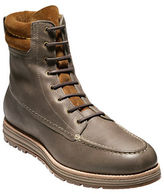 Cole Haan Waterproof Two-Tone Leather Boots
