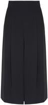 Tibi Wide Leg Silk Culottes