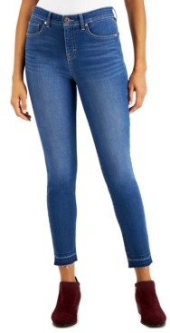 Style&Co. Style & Co Skinny-Fit High-Rise Ankle Jeans, Created for Macy's