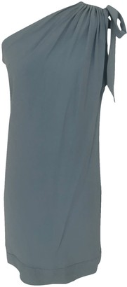 Onelady One Shoulder Dress Light Blue Fran