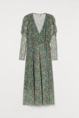 H&M Wrap Dress - Green