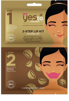 Yes To Coconut 2-Step Lip Kit