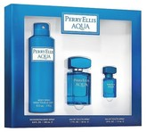 Perry Ellis Men's Aqua by Fragrance Set – 3 pc