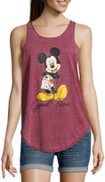 Freeze Mickey Mouse Tank Top-Juniors