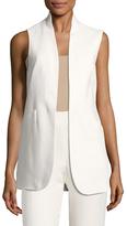 Anne Klein Cotton Double Weave Vest