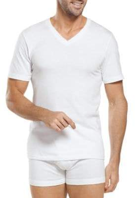 Jockey Big Man Classic Cotton V-Neck T-Shirts 2-Pack