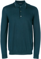 Pal Zileri button collar jumper