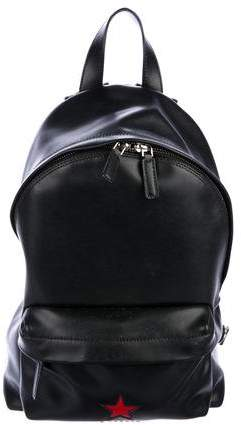 Givenchy Leather Star Backpack