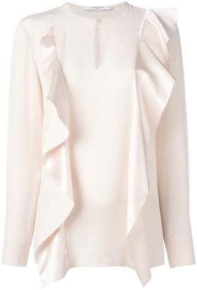 Givenchy Ruffle Panel Blouse