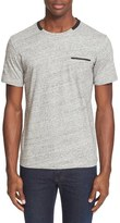 The Kooples Embroidered Pocket T-Shirt