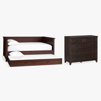 Pottery Barn Teen Hampton Daybed with Trundle & 5-Drawer Dresser Set