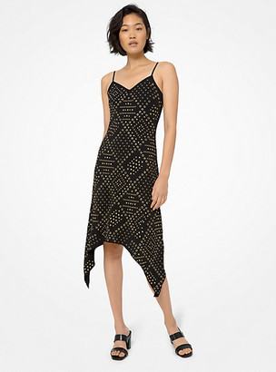Michael Kors Elv Emb Slip Dress