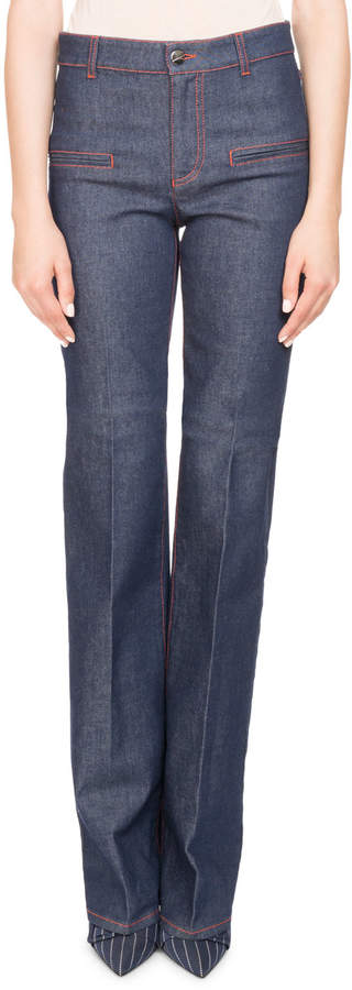 Altuzarra Serge Straight-Leg Denim Jeans