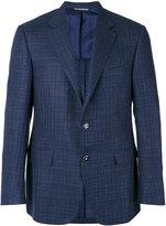 Canali two button blazer - men - Silk/Linen/Flax/Cupro/Wool - 50