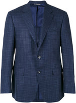 Canali two button blazer - men - Silk/Linen/Flax/Wool/Cupro - 50