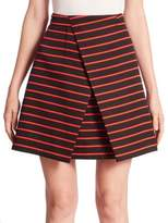 Proenza Schouler Striped Wrap Skirt