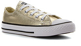 Converse Girls' Chuck Taylor All Star Metallic Canvas Ox PS/GS