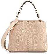 VBH Seven 30 Python Shoulder Bag, Off White