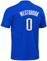 adidas Men's Oklahoma City Thunder Russell Westbrook Player T-Shirt