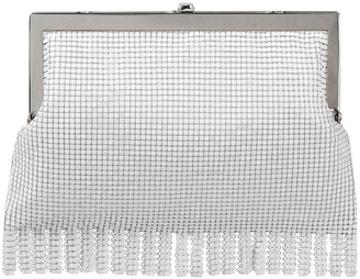 HVN Fringed Chainmail Clutch