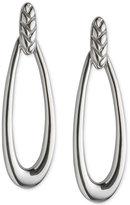 Nambe Braid Loop Earrings in Sterling Silver, Only at Macy's