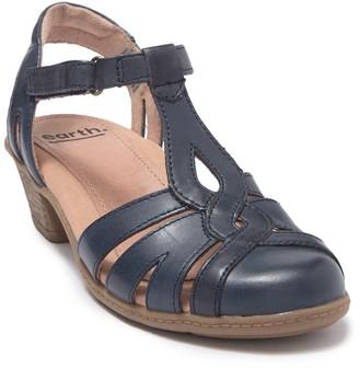 Earth Capella Leather T-Strap Sandal