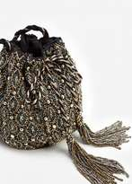 MANGO Beads Bucket Bag