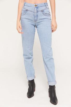 BDG High-Rise Seamed Yoke Mom Jeans