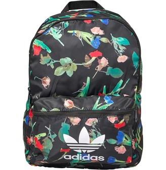 adidas Womens Classic Graphic Backpack Multi Colour/Black