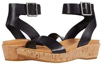 Kork-Ease Mullica (Black Full Grain) Women's Sandals