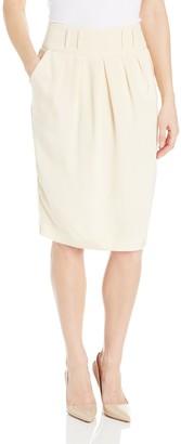 Magaschoni Women's Silk Skirt