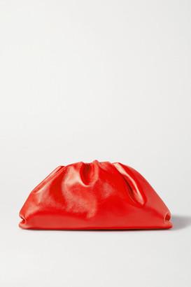 Bottega Veneta The Pouch Large Gathered Leather Clutch