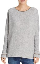 Soft Joie Brixta Chain-Trimmed Sweater
