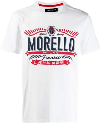 Frankie Morello printed logo T-shirt