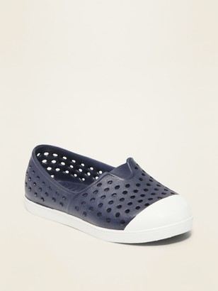 Old Navy Perforated Slip-On Sneakers for Toddler Boys