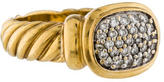 David Yurman Pave Cable Ring