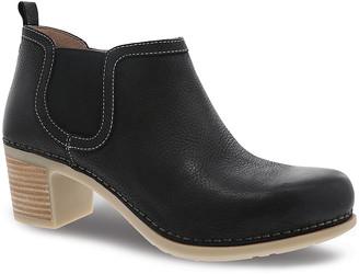 Dansko Women's Casual boots black - Black Harlene Leather Ankle Boot - Women