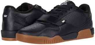 Supra Breaker Low (Black/Gum) Men's Shoes