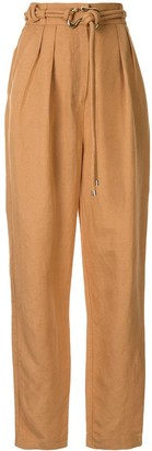 Acler High Waisted Tapered Trousers