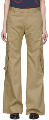 Martine Rose Tan Alphonso Cargo Trousers