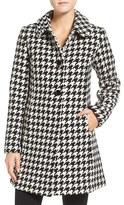 Kate Spade Women's Houndstooth Wool Blend Coat